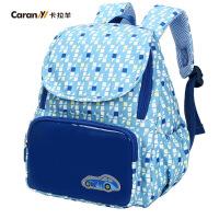 卡拉羊儿童书包幼儿园书包卡通书包男女宝宝双肩包小包幼童双肩包C6002