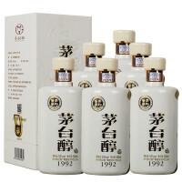 茅台醇1992 53° 酱香型白酒500ml*6瓶整箱