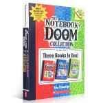 顺丰发货 英文原版进口 Branches系列 Notebook of Doom 末日笔记本1-3 奇幻冒险故事书 6-