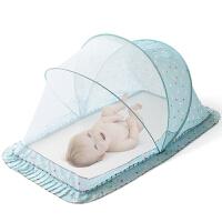 可折叠婴儿床蚊帐宝宝蚊帐儿童新生儿小孩罩蒙古包带支架通用