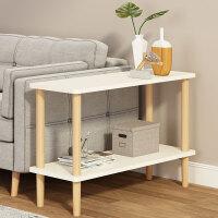 沙发小边几迷你北欧实木床头桌简约现代茶几小户型客厅储物柜边柜