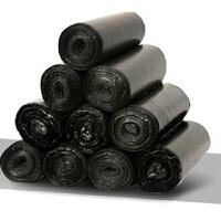 20卷装黑色垃圾袋加厚一次性塑料袋中大号卫生间厨房家用垃圾袋