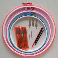 十字绣刺绣工具配件绣绷绣圈绣架绣针穿线器绣针 大中小全套