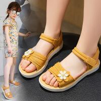 女童凉鞋女孩公主鞋夏季学生凉鞋防水时尚软底凉拖鞋防滑