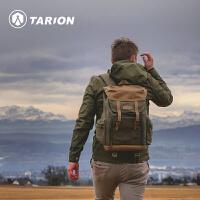 德国TARION摄影包相机包国家地理单反双肩牛皮帆布佳能背包