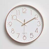挂钟客厅钟表静音时钟表现代简约石英钟卧室家用时尚创意挂表