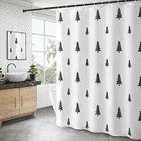 欧式窗帘洗手间厕所遮挡防水布浴帘冲凉房卫生间洗澡淋浴隔断