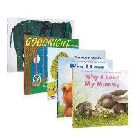 顺丰发货 英文原版名校推荐暑期书单5本英语课外阅读 Goodnight Moon Rosie`s Walk 3-6岁 3-4年级读书清单正版进口绘本