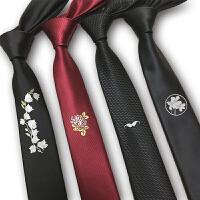 男士正装商务5学生韩版黑色职业新郎英伦结婚时尚休闲领带