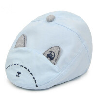 儿童遮阳帽子男女童鸭舌帽 贝雷帽小孩棒球帽婴幼儿棉帽