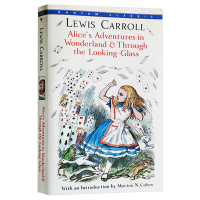 爱丽丝梦游仙境与镜中奇遇记 英文原版小说 Alice's Adventures in Wonderland 爱丽丝漫游奇