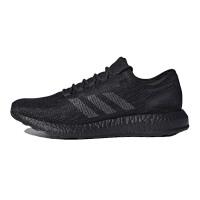 adidas阿迪达斯男子跑步鞋2018新款Pureboost全黑运动鞋CM8304
