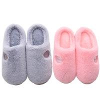 棉拖鞋女冬季半包跟室内居家居情侣防滑毛绒拖鞋毛毛冬天拖鞋男士