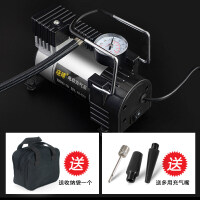 电瓶车电动车充气泵48v60v72v通用车载自动加气空胎高压打气筒