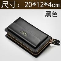 男士手包时尚潮流韩版夏季大容量手提钱包长款手拿包休闲商务潮包