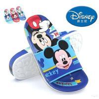 包邮2017新款迪士尼夏季儿童鞋男童防滑中童凉拖鞋婴儿学步鞋宝宝凉鞋