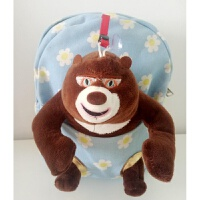 熊出没儿童书包可爱卡通男女童幼儿园小班 宝宝双肩背包