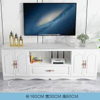 电视柜现代简约小户型客厅边柜组合欧式钢化玻璃地柜卧室电视机柜 组装