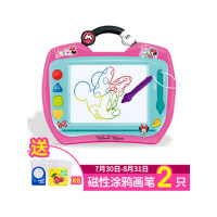 迪士尼儿童彩色画画板磁性写字板涂鸦板宝宝画板1-3岁家用套装幼