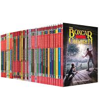 英文原版 Boxcar Children 棚车少年 1-50部50本套装 7-10岁中小学生培养自信心励志读物 美国经典儿童少儿桥梁小说书