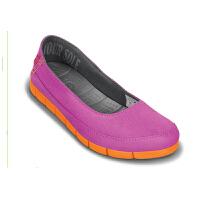 【2双3折】Crocs卡骆驰 女子 春夏女士舒跃奇平底鞋休闲 旅行|15317女士舒跃奇平底鞋