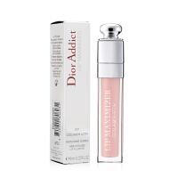迪奥(Dior)魅惑骨胶原丰唇蜜唇彩6ml 001# 裸色淡粉色