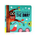 英文原版Hoot's First Book of The Body