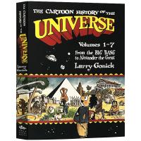 漫画宇宙史1-7卷 英文原版科普书 The Cartoon History of the Universe 英文版现货