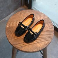 童鞋女童皮鞋春秋季小女孩中大童单鞋儿童鞋子公主鞋学生豆豆鞋子 36 内长22.2cm