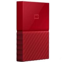 【当当正品店】西部数据(WD)移动硬盘 1T My Passport 移动硬盘 1TB 2.5英寸 中国红 移动硬盘1TB
