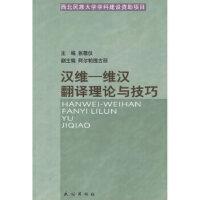 汉维:维汉翻译理论与技巧