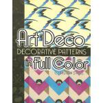 【预订】Art Deco Decorative Patterns in Full Color