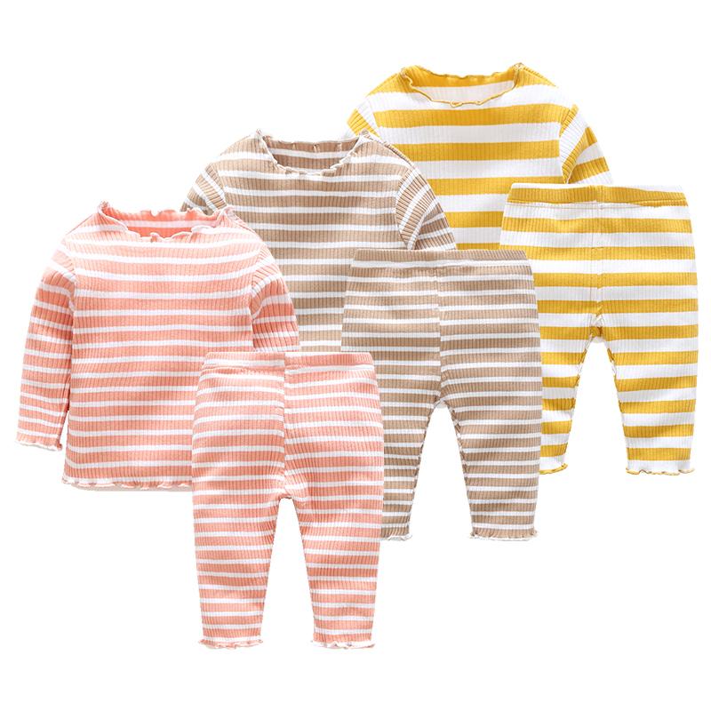 婴儿衣服装0岁6个月3宝宝长袖套装新生儿小童冬装两件套 发货周期:一般在付款后2-90天左右发货,具体发货时间请以与客服协商的时间为准