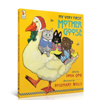 【全店300减100】鹅妈妈童谣My Very First Mother Goose英文原版绘本 廖彩杏推荐有声绘本 大