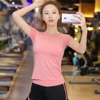 瑜伽服女健身服跑步运动上衣T恤短袖长袖上衣
