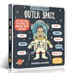 顺丰发货 Little Explorers: Outer Space 小探险家:外太空 儿童英文原版科普读物 少儿百科