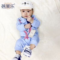 宝宝婴儿童连体衣服0岁6个月季款新生儿长袖潮款外出哈衣