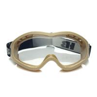 户外防风眼镜 摩托车风镜 防风沙眼镜 防雾 可戴近视 两幅镜片