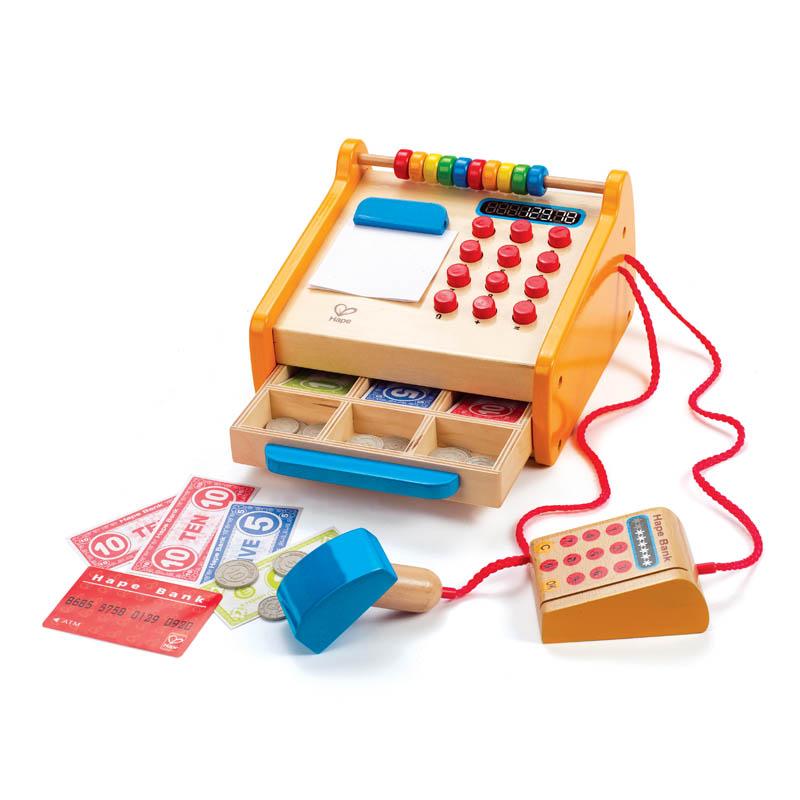 Hape小卖部收银台3-6岁儿童过家家益智玩具创意收纳婴幼玩具E3121 【12.09-12.13年终狂欢盛典】限时2件5折