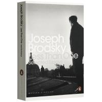 正版 Less Than One Selected Essays 小于一 英文原版 诺贝尔文学奖得主约瑟夫布罗茨基散文集