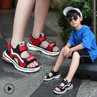 儿童凉鞋男童中大童女童夏季沙滩鞋学生软底宝宝童鞋