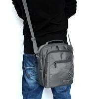 2018新款男士包包防水尼龙牛津帆布男包手提休闲包单肩斜跨背 灰色