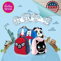 美国Dabbawalla瓦拉包 宝宝双肩背包男童女童幼儿园可爱小书包