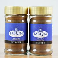 JABLUM原装 牙买加蓝山咖啡100g 速溶黑咖啡粉 包邮