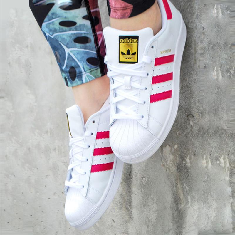 Adidas/阿迪达斯经典款三叶草贝壳头B23644*赔十