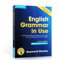 英文原版新版 剑桥英语语法书 中级 English Grammar in Use 带答案带电子书