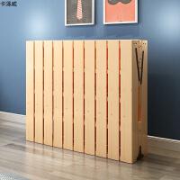 带床垫多功能睡觉1.2米折叠床木质办公室午休床小型木板床经济型