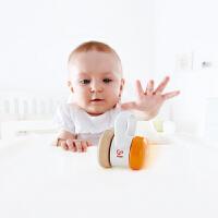 Hape滚滚乐婴儿摇铃0-3岁儿童不倒翁转轮婴幼玩具摇铃床铃安抚
