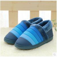 全包跟棉拖鞋潮路思居家保暖棉鞋户外棉鞋新款秋冬季棉鞋男女8888
