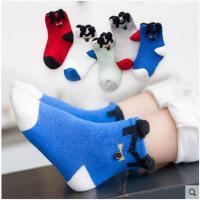 新款儿童袜子纯棉男女童冬秋季中筒袜1-3-5-7-9岁宝宝长袜